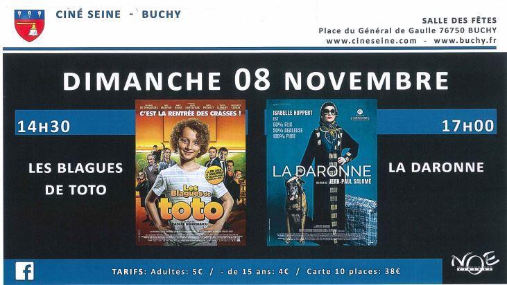 Cinema novembre 1