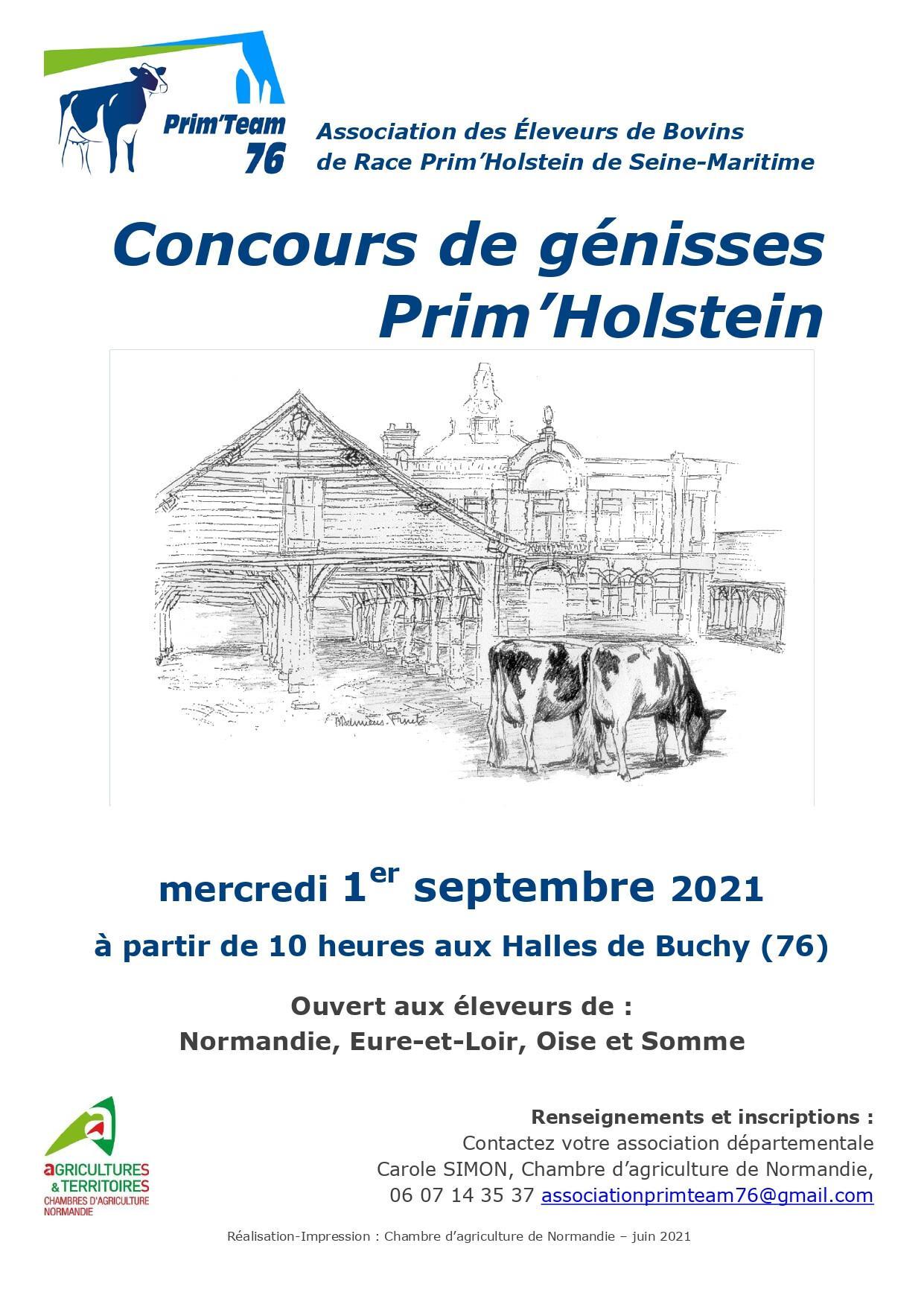 Concours Prim'Holstein
