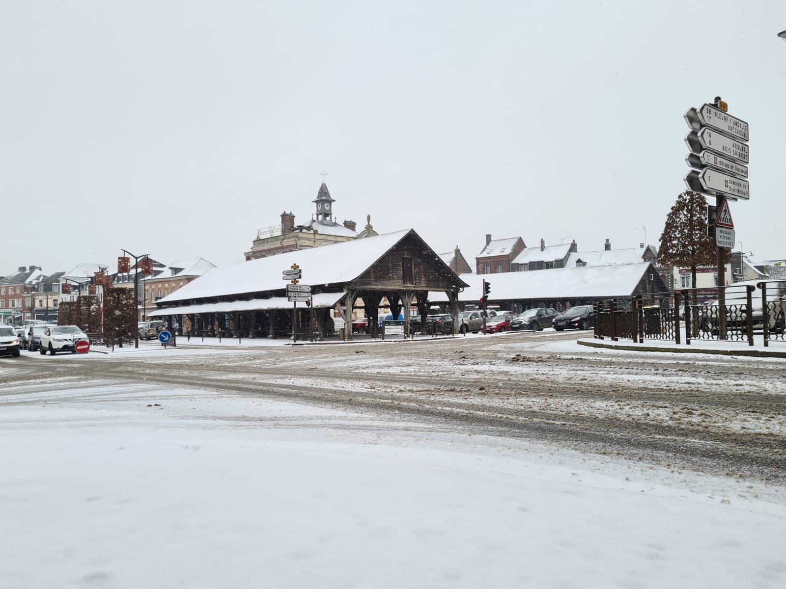 Buchy sous la neige - Janvier 2021
