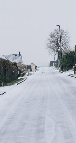 Estouteville sous la neige - Janvier 2021